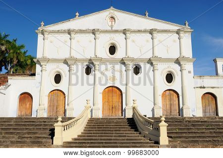 Nicaragua, View On The San Francisco Churchin Granada