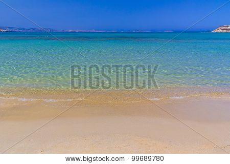 Agios Georgios Beach, Naxos Island, Cyclades, Aegean, Greece