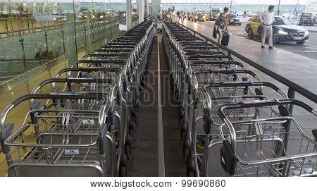 Luggage Transportation Carts