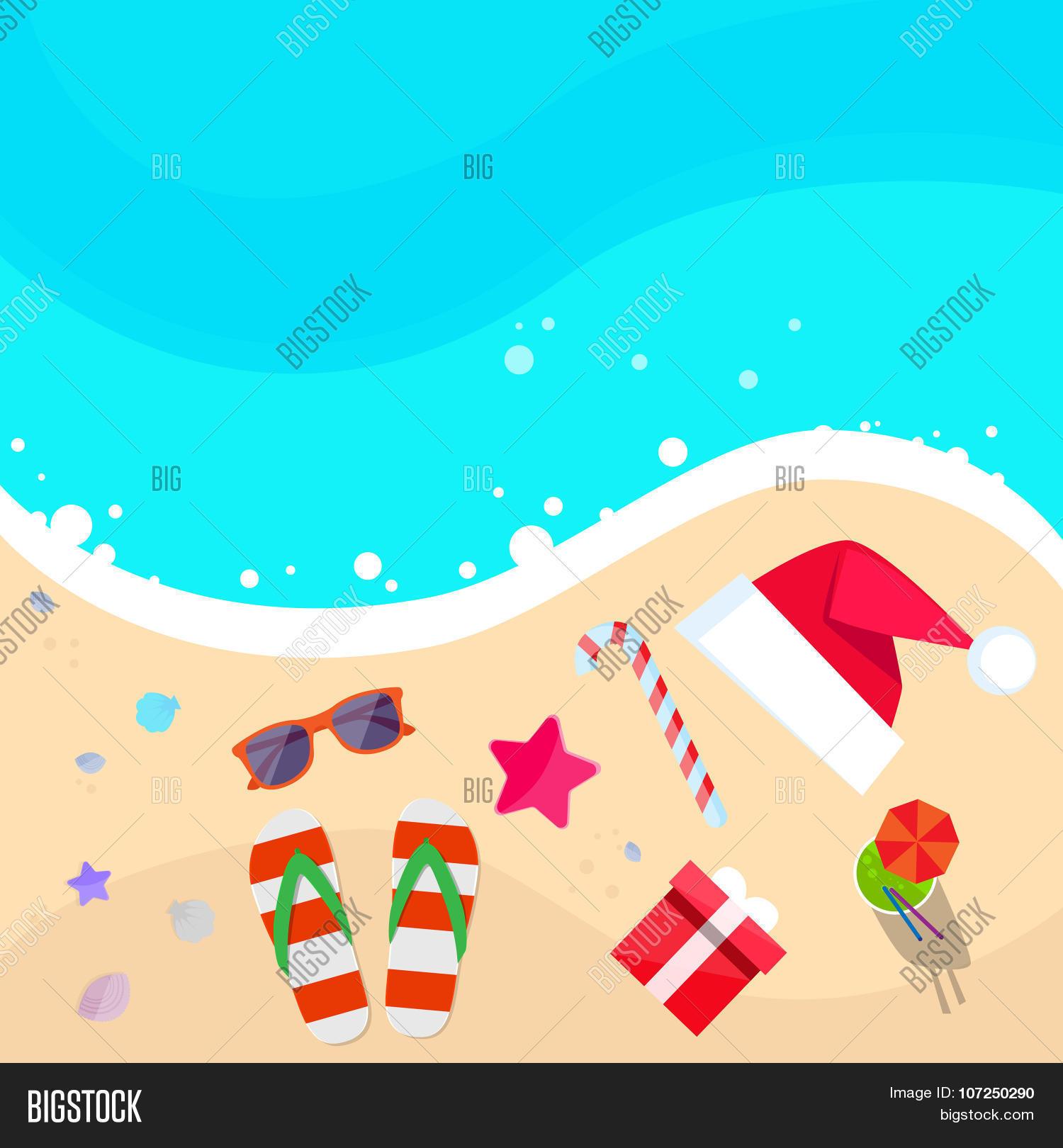 Christmas Santa Hat Vector & Photo (Free Trial)   Bigstock
