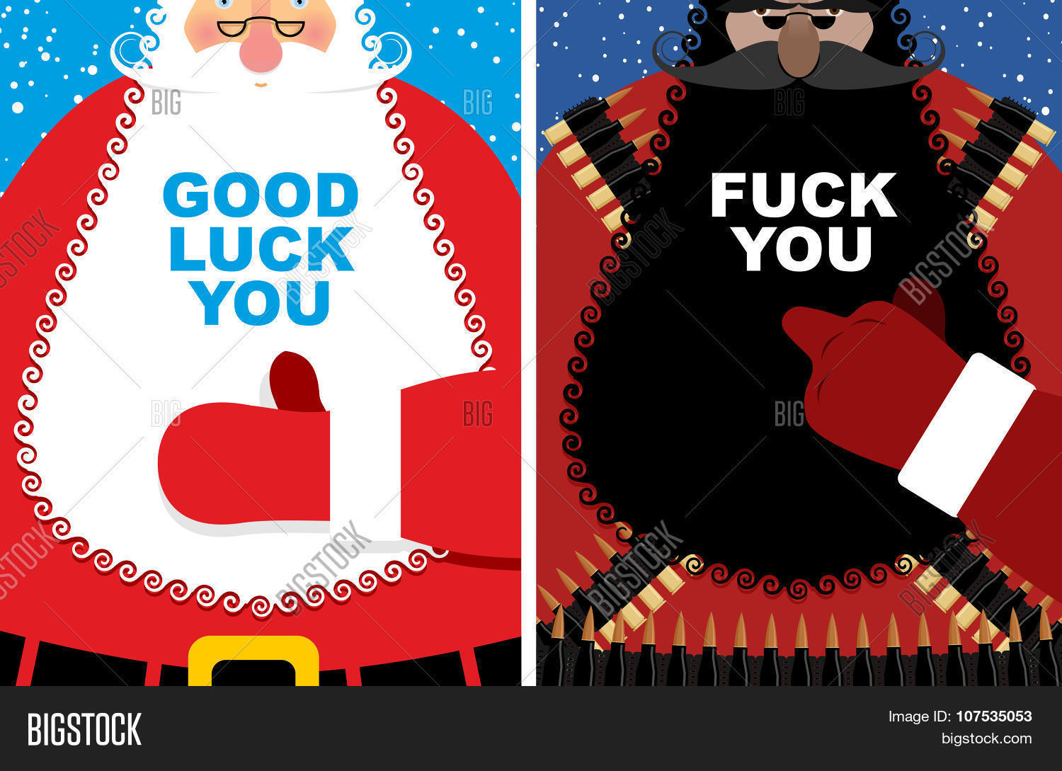 Christmas Cards. Good Vector & Photo (Free Trial) | Bigstock