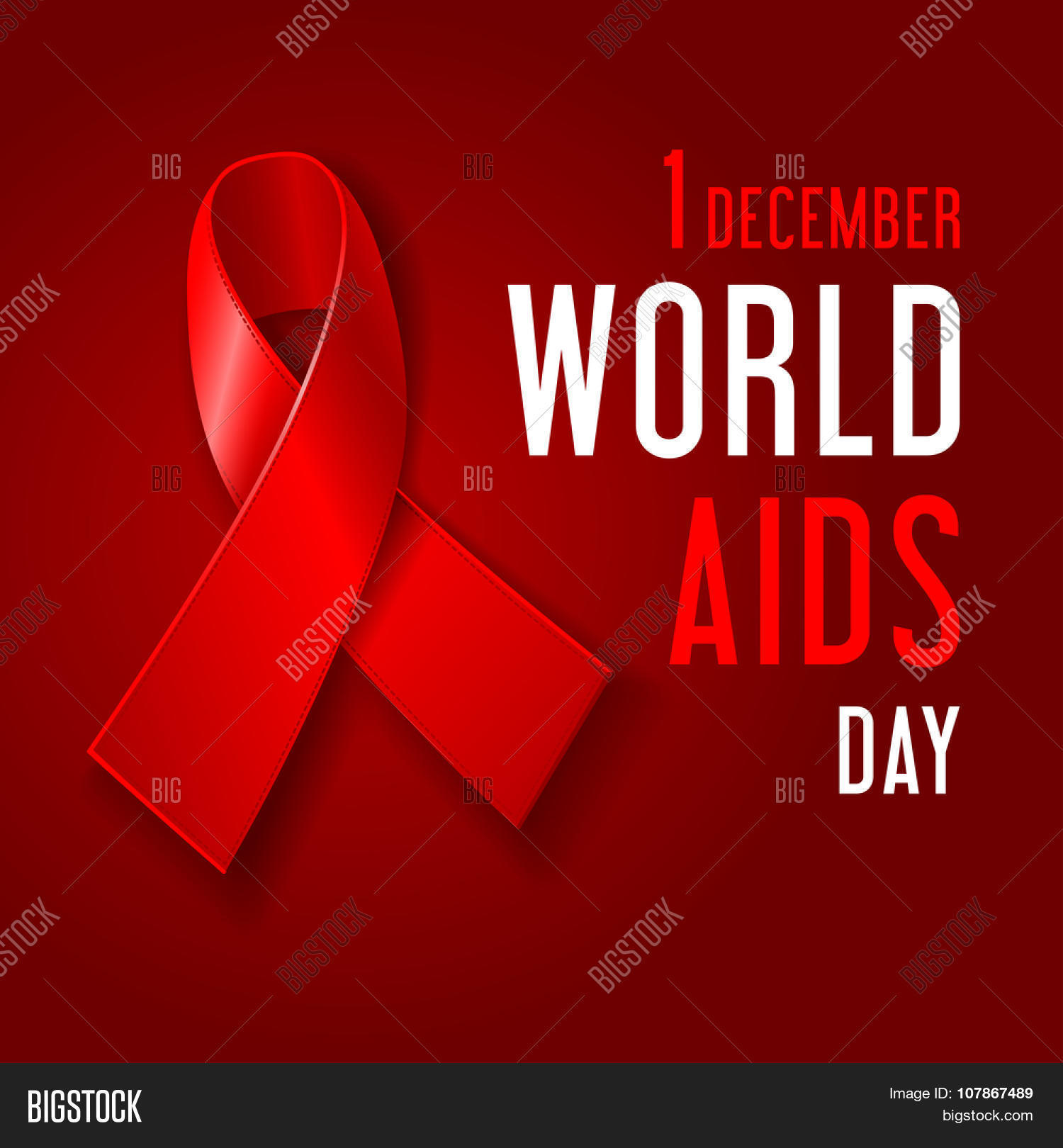 World Aids Day Vector Photo Free Trial Bigstock