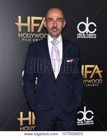 LOS ANGELES - NOV 1:  Shaun Toub arrives to the Hollywood Film Awards 2015 on November 1, 2015 in Hollywood, CA.