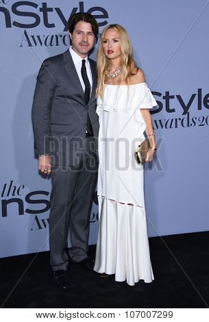 LOS ANGELES - OCT 26:  Rachel Zoe & Rodger Berman arrives to the InStyle Awards 2015  on October 26, 2015 in Hollywood, CA.