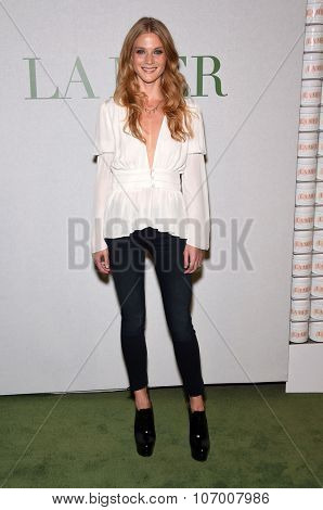LOS ANGELES - OCT 13:  Winter Ave Zoli arrives to the La Mer