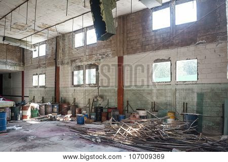 Abandoned Derelict Warehouse