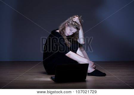 Woman Is Depressed