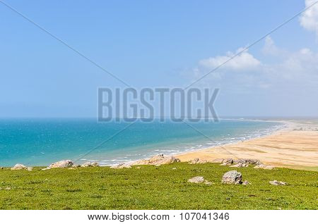The View Of The Beaches In Jericoacoara, Brazil