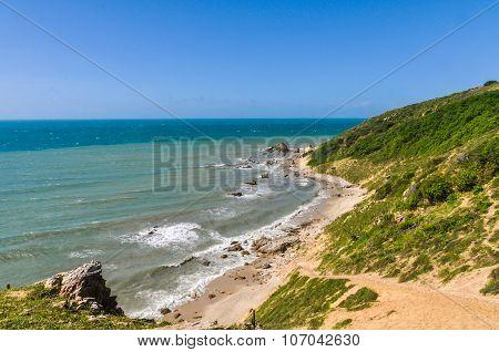 Beach View In Jericoacoara, Brazil