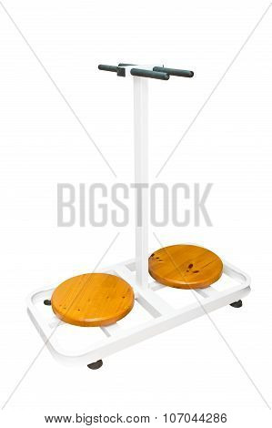 exerciser disc for lumbar