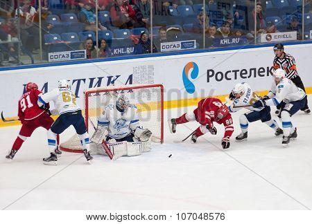 Hockey Wars On A Gate