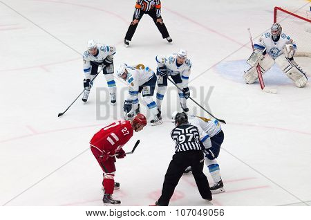 Yury Koksharov (27) On Faceoff