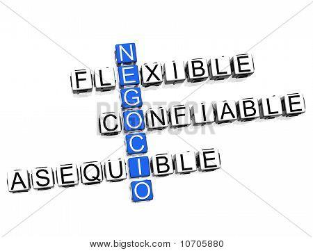 Negocio Crossword