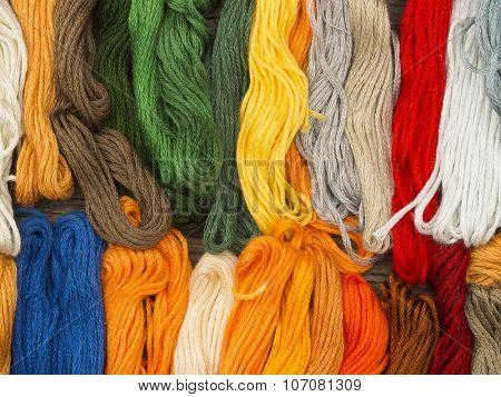 needlecraft embroidery threads