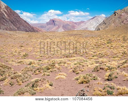 Colorful Montain near the Aconcagua