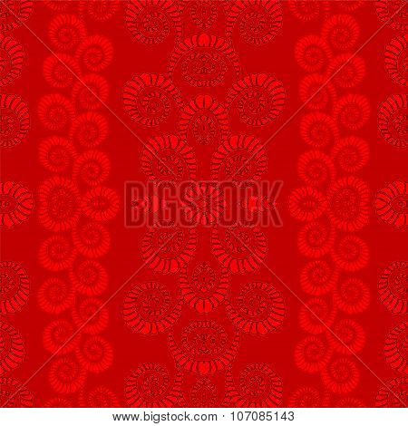Stock Vector Abstract Wave Seamless Pattern.