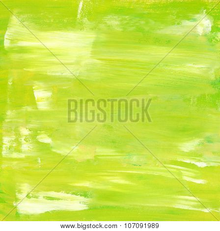 Abstract Acrylic Lime Green Background Texture
