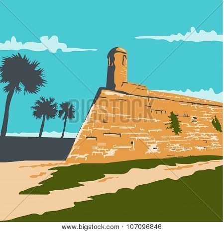 Fort Marion St. Augustine Wpa