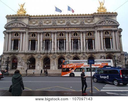 Exterior Of The Paris