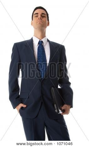 Man With Hand In Pocket