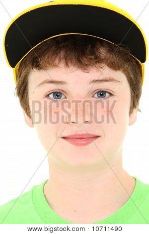 Boy In Yellow Cap