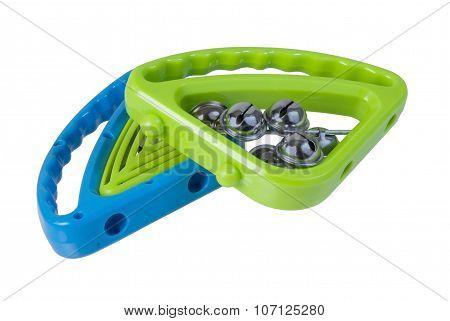 Colorful Tambourines