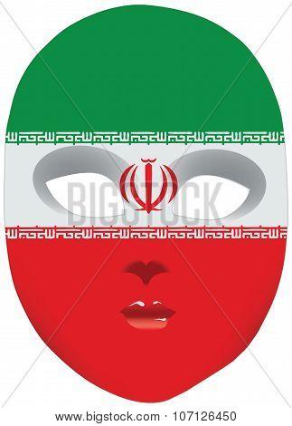 Iran Mask