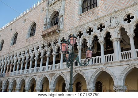The Doge Palace - Venice Italy / The Doge Palace (palazzo Ducale) In St. Mark Square, Venice (unesco