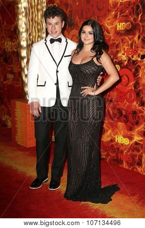 LOS ANGELES - SEP 20:  Nolan Gould, Ariel Winter at the HBO Primetime Emmy Awards After-Party at the Pacific Design Center on September 20, 2015 in West Hollywood, CA