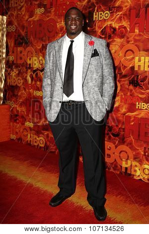 LOS ANGELES - SEP 20:  Donovan Carter at the HBO Primetime Emmy Awards After-Party at the Pacific Design Center on September 20, 2015 in West Hollywood, CA