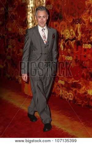 LOS ANGELES - SEP 20:  Alan Cumming at the HBO Primetime Emmy Awards After-Party at the Pacific Design Center on September 20, 2015 in West Hollywood, CA