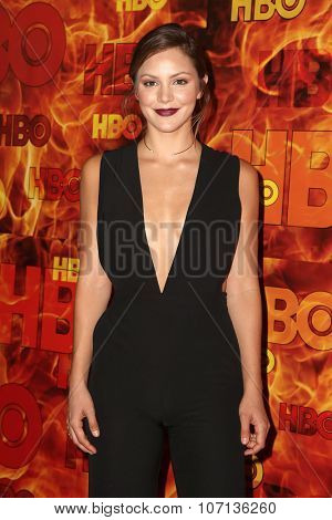 LOS ANGELES - SEP 20:  Katharine McPhee at the HBO Primetime Emmy Awards After-Party at the Pacific Design Center on September 20, 2015 in West Hollywood, CA