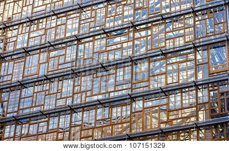 Glazing Of The Europa Building, The Future Seat Of The European Council