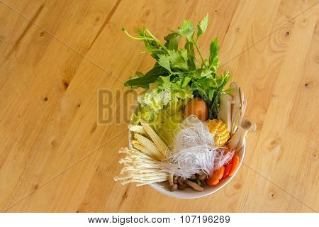 Vegetable shabu