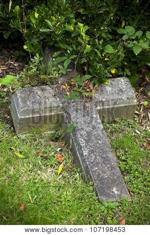 Fallen cross