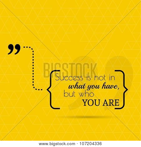 Inspirational quote vector
