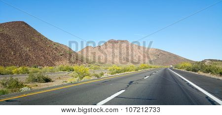 Driving On Interstate-10