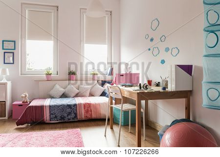 Homely Teen Room