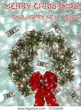 Christmas Money Greeting