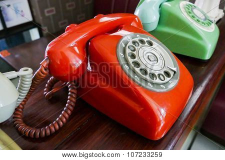 Old Dialling Telephone