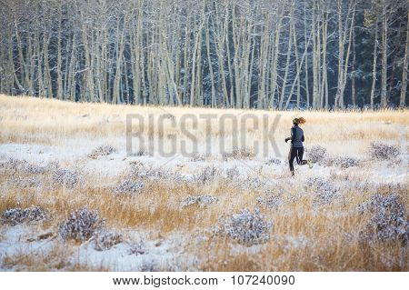 Female Trail Running
