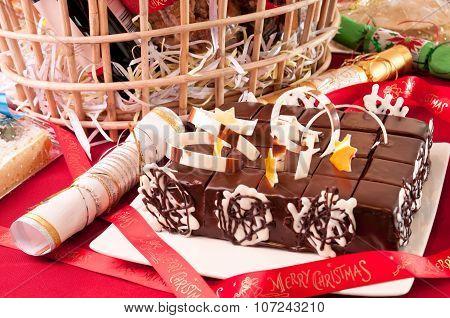 Christmas Chocolate Cake