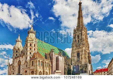 Metropolitan Cathedral of Saints Vitus Wenceslaus and Adalbert.