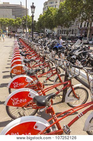 Vodafone Bicing In Barcelona