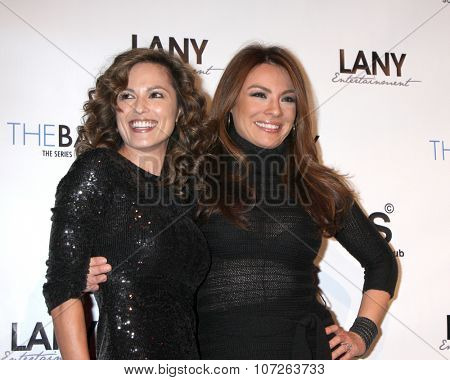 LOS ANGELES - DEC 4:  Terri Ivens, Lilly Melgar at the