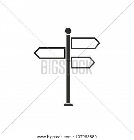 Signpost  Icon.