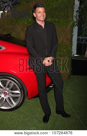 LOS ANGELES - MAY 2:  Aiden Turner at the Jaguar North America and Britweek Present