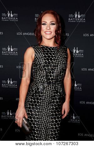 LOS ANGELES - NOV 6:  Sharna Burgess at the Battersea Power Station Global Launch Party at the The London on November 6, 2014 in West Hollywood, CA