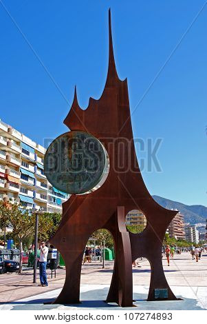 Monument to the Peseta, Spain.