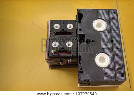 video cassette tape recorder